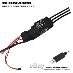 300A Car R-Snake ESC 12S LiPo with BEC 12A for 1/5 Brushless Motors FREE Express