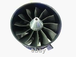 64mm 70MM 90MM 120MM 12 Blades Ducted Fan System EDF For Jet Plane with Motor