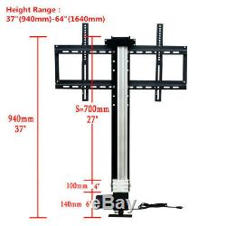 700mm Motorised TV Lift with Mount Bracket & wireless Controller for 26-57