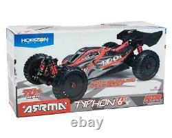 ARA8606V5 Arrma Typhon 6S BLX Brushless RTR 1/8 4WD RC Buggy Red / Black 2021 V5