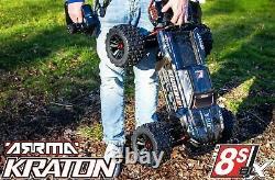 ARRMA 1/5 KRATON 8S 4WD EXtreme Bash Roller, Schwarz, black ARA5208