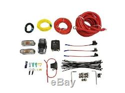 Air Ride Suspension Complete Management Kit Wireless Control 3 Presets Black 580