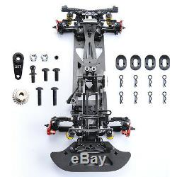 Alloy&Carbon 1/10 4WD Drift Model Car Frame Chassis G4 F Electric RC Racing Car