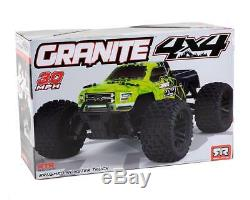 Arrma Granite 1/10 Scale 4x4 Mega RC Remote Control Monster Truck RTR GRN/Black