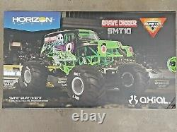 Axial SMT10 Grave Digger RTR 1/10 4WD Monster Truck AXI03019 Brand New