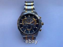 CITIZEN TACHYMETER Eco-Drive Gents RADIO CONTROLLED Watch E660-S120896