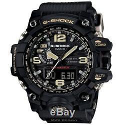 Casio G-Shock GWG-1000-1A DR Mudmaster Radio Control Triple Sensor Watch Black