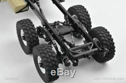 Cross RC HC6 Off Road Military Truck Kit, 1/10 Scale, 6x6