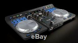 Dj Controller Practice Dual Mixing Deck Wireless Bluetooth Connection Software