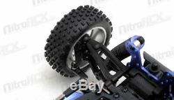 Exceed RC Froza 1/10 Nitro Gas. 18 Engine Remote RC RTR Buggy Fire Black