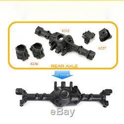 GRC G2 Alloy Front & Rear Axle Set For Traxxas TRX4 TRX-4 110 RC Rock Crawler
