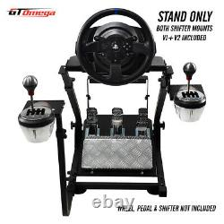 GT Omega Steering Wheel stand PRO for Thrustmaster T300RS Racing & TH8A shifter