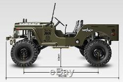 Gmade 10th Scaler GS01 Jeep Sawback 4WD Scale Crawler Kit Leaf Willys GM52000