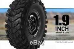 Gmade GS01 Sawback 4WD 1/10 Scale Rock Crawler Kit GM52000