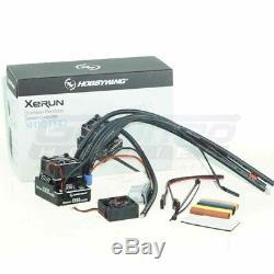 Hobbywing XR10 PRO ESC / 160A Sensored Brushless Speed Control (Black) 1/10