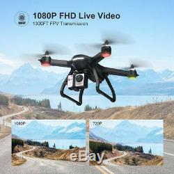 Holy Stone HS700 GPS Drones with Wifi 1080P HD camera Brushless RC Quadcopter
