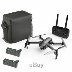 Hubsan Zino PRO 4K FPV RC Quadcopter With 3 Gimbal Camera GPS 4.5KM Drone+2Battery