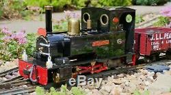 Live Steam Locomotive Merlin SM32 G Scale 16mm
