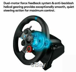 Logitech G29 Driving Force RaceWheel ONLY PlayStation 3/PlayStation 4/PC