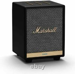 Marshall Uxbridge Bluetooth Speaker with Alexa Voice Control Black