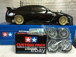 NEW Tamiya Nissan Skyline GTR Custom RC Drift Car TT-02 x 4WD 1/10 Scale FedEx