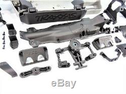 NEW Traxxas 1/10 E-Revo VXL 2.0 Chassis Set Skids Rocker Arms Bellcrank Supports