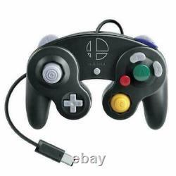 Nintendo Official Gamecube Controller Smash Bros Black