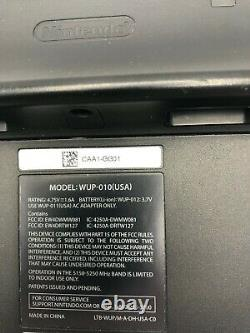 Nintendo WII U REPLACEMENT GAMEPAD CONTROLLER ONLY WUP-010 USA TESTED WORKING