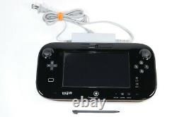 Nintendo WII U REPLACEMENT GAMEPAD CONTROLLER + STYLUS, CHARGER WUP-010 USA