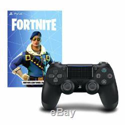 Official Playstation 4 Controller V2 + PS4 Fortnite Voucher Code Game Redeem DLC