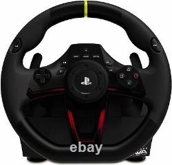 PS4 Gaming Steering Racing Wheel and Pedals Wireless RWA Apex by Hori NEW
