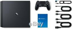 PlayStation 4 Pro 1TB Console Black + DualShock 4 Wireless Controller Crystal