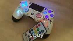 Playstation 4 PS4 Wireless ArcadeFi2e independent controllable LEDs custom mad