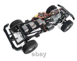 RC4WD Cross Country 1/10 RTR Off-Road Crawler withBlack Rock Four Door Body (Blue)