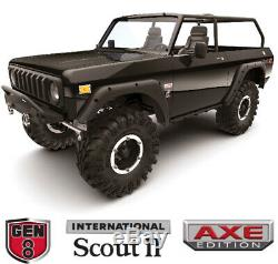 Redcat Racing Gen8 Scout II AXE Edition 1/10 Scale 4WD Brushless RC Crawler BLK