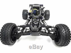 Rovan 45cc Gas, Petrol Buggy 1/5 Scale Ready to Run KM HPI Baja 5B Compatible