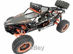 Rovan V2 Steel Sand Rail Roll Cage Body Panels L. E. D Fits HPI Baja 5B 5T Green