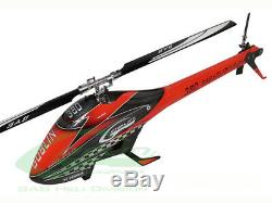 SAB Goblin 380 Flybarless Electric Helicopter Kit Red Black with 380MM Main Blades