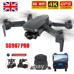 SG907 Pro 5G Wifi GPS RC Drone 4K Camera 2-axis Gimbal RC Quadcopter With bag