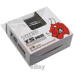 SKYRC TORO TS160A Aluminum Brushless Sensored ESC For 110 RC Cars #SK-300064-01