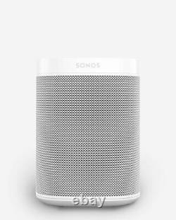Sonos One (Gen 2) Voice Controlled Smart Speaker Amazon Alexa (White)