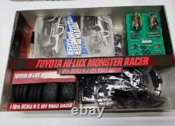 TAMIYA 58086 TOYOTA HI-LUX MONSTER RACER scale 1/10 very rare Vintage 1990