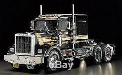 Tamiya 56336 1/14 Scale RC Tractor Truck King Hauler Black Edition Kit NIB
