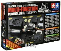Tamiya 56511 TROP11 Truck Trailer Multi-Function Control Unit MFC-01 black toy