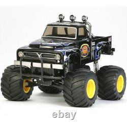 Tamiya 58547 1/12 Midnight Pumpkin Black Edition 2WD On-Road Truck Kit