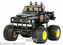 Tamiya 58547 BLACK Midnight Pumpkin Kit RC Kit WITH Tamiya ESC Unit Car