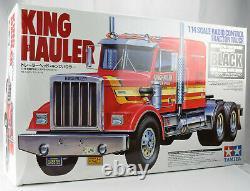Tamiya King Hauler Black Edition 1/14 Electric RC Semi Tractor Truck Kit 56336