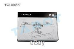 Tarot X8 8 Aixs Octocopter Folding Frame Kit TL8X000 With Retractable Landing Gear