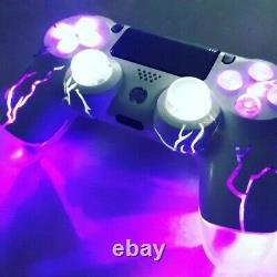 TechFire PS4 playstation 4 LED wireless custom BOLTZ controller dualshock4 genu