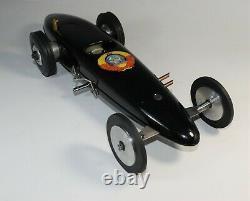 Tether Car Gas Powered Race Car Streamlined Machine Age Russia Near Mint Box 70s